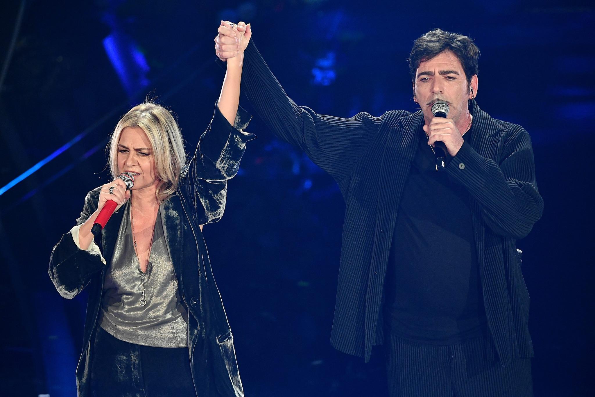 Irene Grandi e Bobo Rondelli (Lapresse)