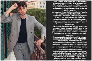 """Riki replica alle accuse di omofobia: """"Non sono omofobo, ma sull'argomento c'è tanta ipocrisia"""""""