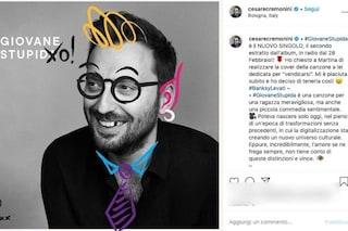 """Cesare Cremonini, la cover di 'Giovane stupida' è opera di Martina: """"Rispecchia le mie due anime"""""""