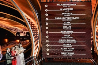 La classifica provvisoria di Sanremo 2020: primo Francesco Gabbani, Junior Cally ultimo