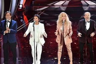 """I Ricchi e Poveri cantano in playback all'Ariston, bufera sui social: """"Sembra il karaoke"""""""