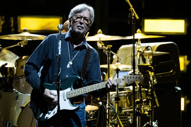 Eric Clapton (ph GEORG HOCHMUTH/AFP via Getty Images)