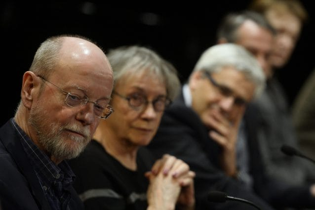Charles Wuorinen (ph PIERRE–PHILIPPE MARCOU/AFP via Getty Images)
