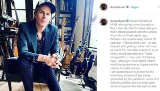 """John Taylor dei Duran Duran guarito dal Covid-19: """"Ora sto bene, mando amore ai miei fan italiani"""""""