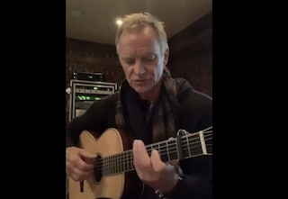 "Sting, messaggio d'amore all'Italia: ""Mi mancate, so che siete separati da quelli che amate"""