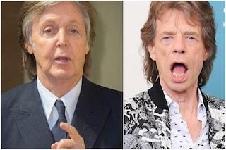 """Beatles e Rolling Stones """"rivali"""" anche dopo 60 anni, Jagger a McCartney: """"Noi ci siamo ancora"""""""