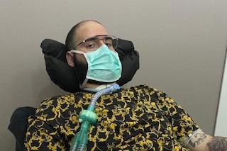 """Paolo Palumbo, 22enne malato di SLA: """"Dono 2000 mascherine all'ospedale e alle forze dell'ordine"""""""