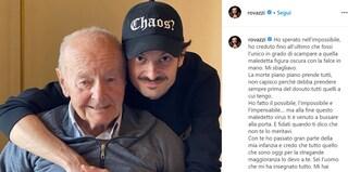 """Morto il nonno di Fabio Rovazzi di coronavirus: """"Sei stato il miglior nonno che si possa desiderare"""""""