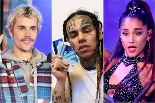 Tekashi 6ix9ine contro Ariana Grande e Justin Bieber: scoppia la polemica per le classifiche Usa