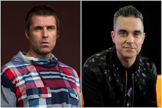 "Liam Gallagher fa pace con Robbie Williams: ""Mi dispiace che tuo padre sia malato"""