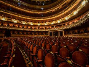 Teatro vuoto a causa del Covid–19 (Amilcar Orfali/Getty Images