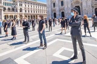 Senza Musica: la protesta con Diodato, Levante e Manuel Agnelli per i lavoratori dello spettacolo
