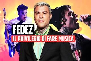 """Fedez torna alla musica: """"Il mio privilegio è una colpa, ma anche un mezzo per battaglie utili"""""""