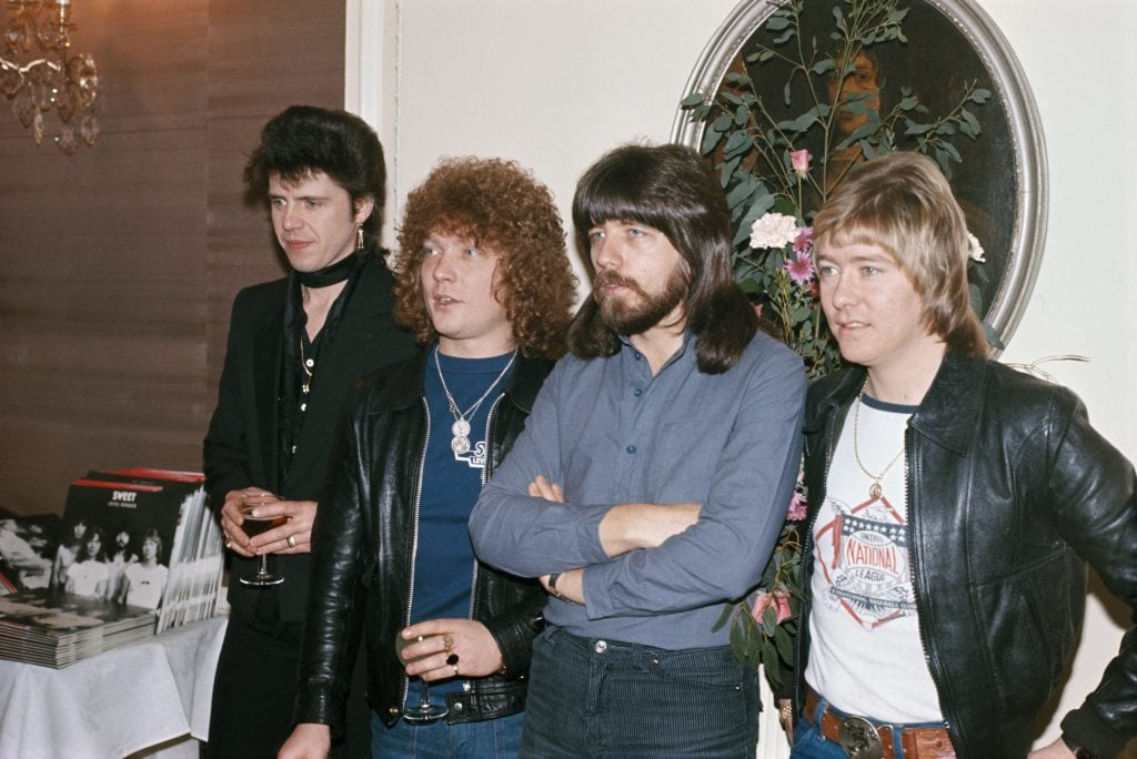 Andy Scott, Steve Priest, Mick Tucker e Brian Connolly