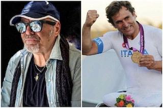 """Vasco Rossi e l'incoraggiamento ad Alex Zanardi dopo l'incidente: """"Forza campione"""""""