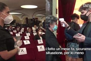 """La musica torna live, in scena Gianni Morandi: """"Sono emozionato, la gente vuole stare assieme"""""""