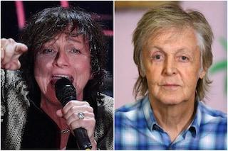"""Gianna Nannini contro Paul McCartney: """"Non abbiamo bisogno di te che bacchetti l'Italia"""""""