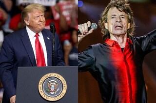 """I Rolling Stones minacciano azioni legali contro Donald Trump """"se usa ancora nostre canzoni"""""""
