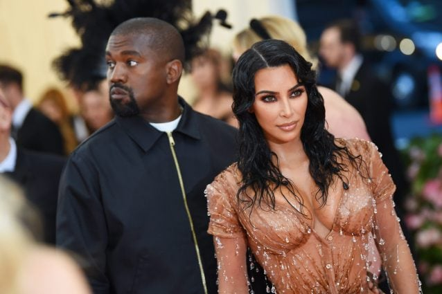 Kim Kardashian Kanye West (Photo by Dimitrios Kambouris/Getty Images for The Met Museum/Vogue)