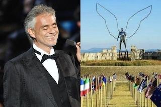 Andrea Bocelli annuncia un concerto in streaming: dal vivo un pubblico composto solo da bandiere
