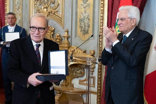 Nel 2019, il Presidente Mattarella ha premiato Ennio Morricone