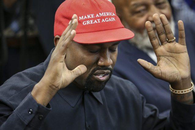 Kanye West (Oliver Contreras – Pool/Getty Images)