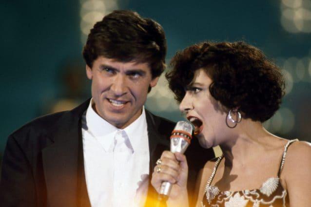 Gianni Morandi e Mia Martini (LaPresse)
