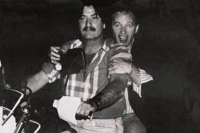 Vasco Rossi e Filiberto Degani (via IG)