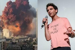 """Il dolore di Mika per l'esplosione di Beirut in Libano: """"Quello che è accaduto mi strazia"""""""