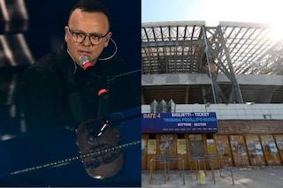 """Gigi D'Alessio sogna il San Paolo: """"Voglio portare Buongiorno e i rapper allo stadio"""""""