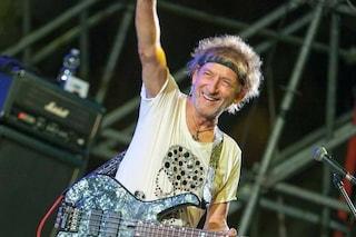 Claudio Golinelli in ospedale, il bassista di Vasco Rossi operato per un trapianto di fegato