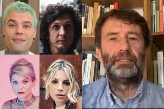 Amoroso, Meta, Fedez, la protesta degli artisti contro il nuovo Dpcm e la risposta di Franceschini