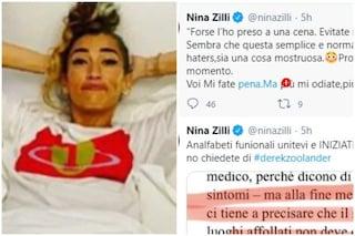 """Nina Zilli positiva al Covid, attaccata dopo il suo annuncio: """"Più mi odiate, più mi sento forte"""""""