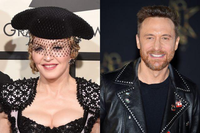 Madonna-David Guetta, collaborazione mancata per colpa... delle stelle