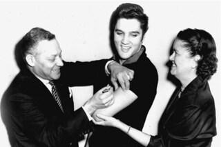 Quella volta che Elvis fece il vaccino anti poliomielite davanti alla stampa