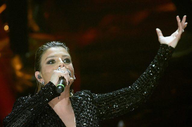 Emma Marrone (foto Gian Mattia D'Alberto/LaPresse)