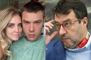 """Salvini, frecciata a Conte a causa di Fedez: """"Preferisce chiamare lui e per me solo un minuto"""""""