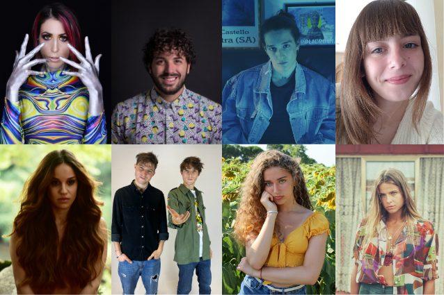 Da sinistra in alto: Greta, Gianmarco, Luca, Aurora.Da sinistra in basso: Francesca, Dellai, Elena, Federica