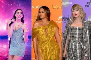 Grammy 2021, Beyonce, Taylor Swift e Dua Lipa sul trono delle nomination, ma non mancano polemiche