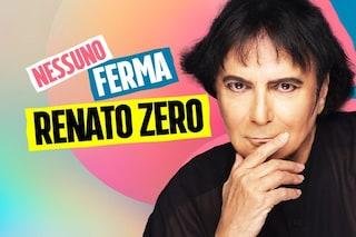 """Renato Zero: """"Siamo alieni, siamo tanti e contagiamo più del Covid"""""""