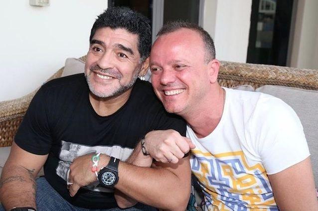 Diego Armando Maradona e Gigi D'Alessio (via Instagram)