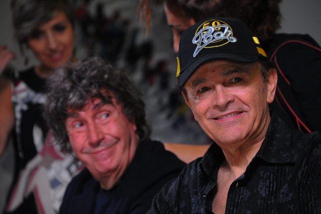 Dodi Battaglia e Stefano D'Orazio (Foto Bianchi/LoDebole/LaPresse)