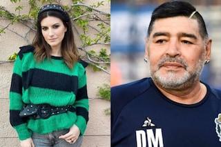 """Maradona, Laura Pausini: """"Fa più notizia la morte di uomo poco apprezzabile che delle donne abusate"""""""