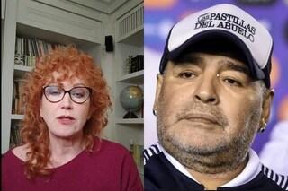 """Maradona, Fiorella Mannoia: """"Non ha scelto lui di morire nel giorno contro la violenza sulle donne"""""""