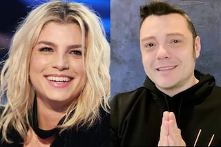 Emma Marrone incoronata da Tiziano Ferro come Personaggio dell'anno ai Diversity Media Awards