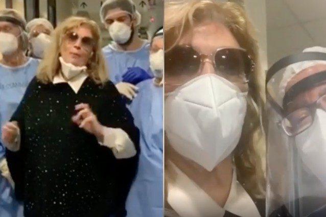 Iva Zanicchi lascia l'ospedale: l'annuncio di Cristiano Malgioglio