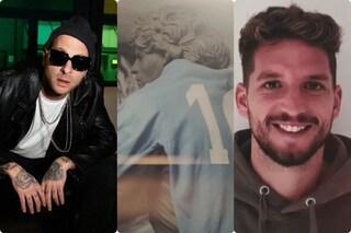 Il video di Partenope, l'inno d'amore di Clementino a Napoli con Mertens e Maradona