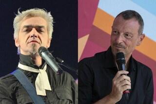 Morgan contro Sanremo 2021 e Amadeus per l'esclusione dal Festival