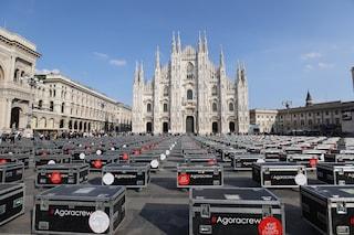 Bauli in piazza, i lavoratori dello spettacolo allestiranno spazi per i vaccini