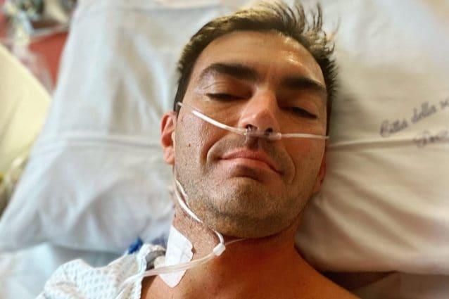 Gabry Ponte in ospedale